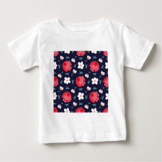vintage flowers baby T-Shirt