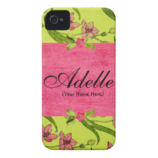 Vintage Flowers Case-Mate iPhone 4 Cases