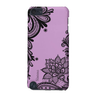 Vintage Flowers Damask Laces Girly iPod Touch Case