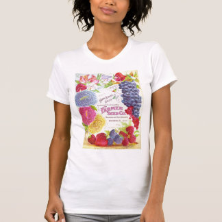 Vintage Flowers & Fruit Shirt