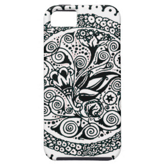 Vintage Flowers Illustration Case For The iPhone 5