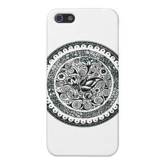 Vintage Flowers Illustration iPhone 5/5S Cover