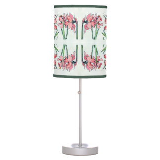 Vintage Flowers Table Lamp
