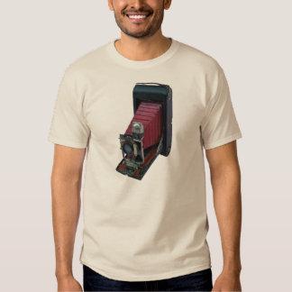 Vintage Folding Rollfilm Postcard Camera T Shirts