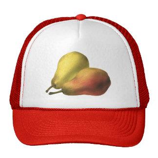 Vintage Food Fruit, Organic Ripe Pears Trucker Hat