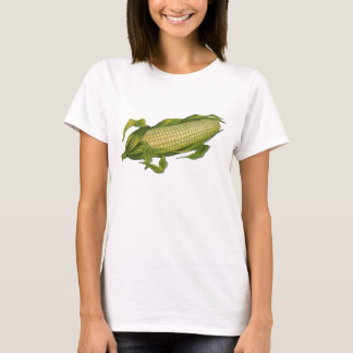 Vintage Food, Healthy Vegetables, Corn on the Cob T-Shirt