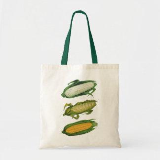 Vintage Food Healthy Vegetables, Fresh Corn on Cob