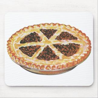 Vintage Foods Dessert, Fresh Baked Pecan Pie Mouse Pad