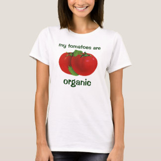 Vintage Foods, Organic Red Ripe Heirloom Tomato T-Shirt