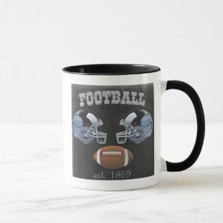 Vintage Football Chalkboard Design Mug