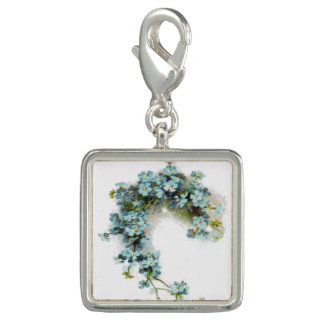 Vintage Forget-Me-Nots Charms