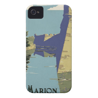 Vintage Fort Marion iPhone 4 Case-Mate Cases