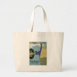 Vintage Fort Marion Large Tote Bag