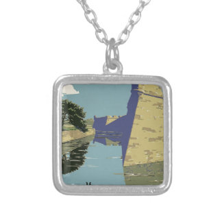 Vintage Fort Marion Silver Plated Necklace