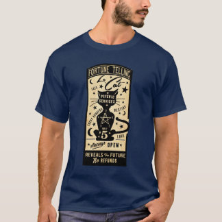 Vintage Fortune Telling Design - Le Cat T-Shirt