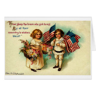 Vintage Fourth of July Card