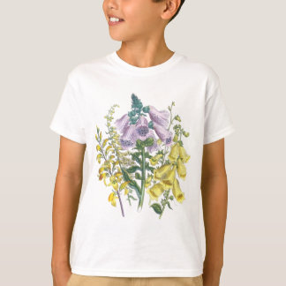 Vintage Foxglove Illustration T-Shirt