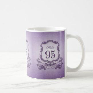 Vintage Frame 95th Birthday Celebration Mug
