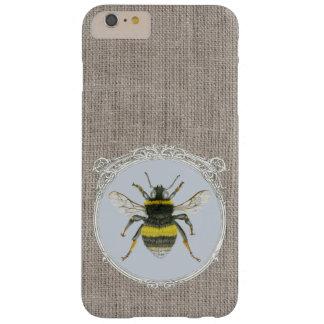 Vintage Framed Bumblebee iPhone 6 Plus Case