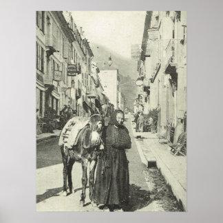 Vintage France, Bareges, Pyrenees Poster