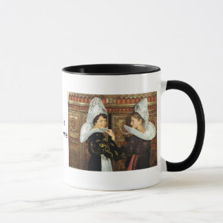 Vintage France, Bretonne ladies Mug