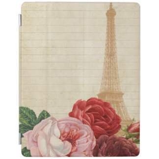 Vintage France - Eiffel Tower Ipad Cover