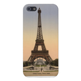 Vintage France, Eiffel Tower Paris 1900 Cover For iPhone 5/5S