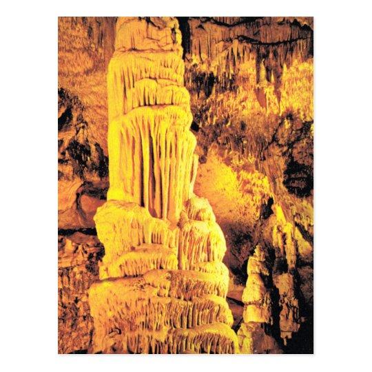 """Vintage France, Jura,  Grotte """"d'Osselle"""" Postcard"""