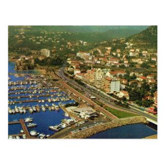 Vintage France, LA Napoule, Cote d'Azur Postcard