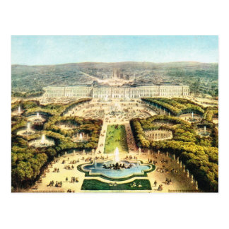 Vintage France, Palace of Versailles Postcard