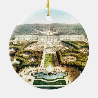Vintage France, Palais de Versailles Ceramic Ornament