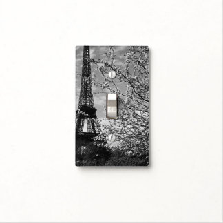 Vintage France Paris Eiffel tower Light Switch Cover