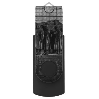 Vintage France Paris Invalides marshal foch tomb Swivel USB 3.0 Flash Drive