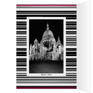 Vintage France Paris Sacre Coeur Basilica Card