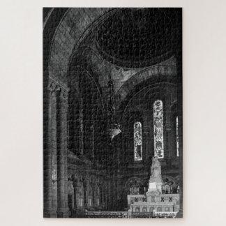 Vintage France Paris sacre Coeur virgin chapel Jigsaw Puzzle