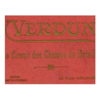 Vintage France,   World War I, Verdun Postcard