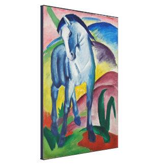 Vintage Franz Marc Blue Horse Canvas Print
