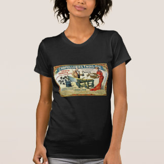 Vintage French Ad Chapelleries 1890 T-Shirt
