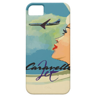 Vintage french ads (Caravelle jet) iPhone 5 Case