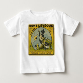 Vintage French Advertisement Baby T-Shirt