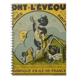 Vintage French Advertisement Notebook