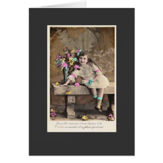 Vintage French Card