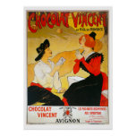 Vintage French Chocolate Poster