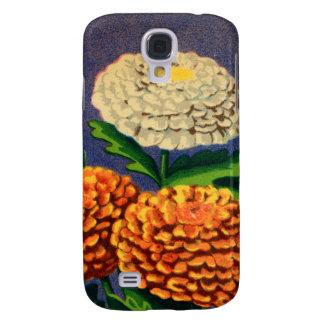 Vintage French Chrysanthemum Flower Seed Package
