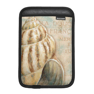 Vintage French Conch Shell iPad Mini Sleeve