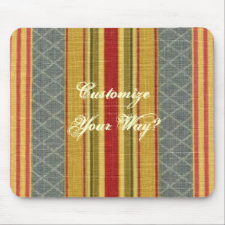 Vintage French Country Pattern Design Mousepad
