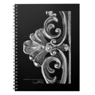 Vintage French Design Spiral Notebook