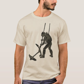 Vintage French Diver with Sicard Rebreather T-Shirt