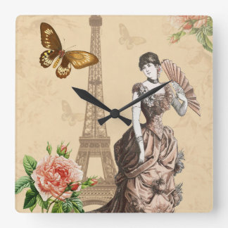 Vintage french fashion elegant clock
