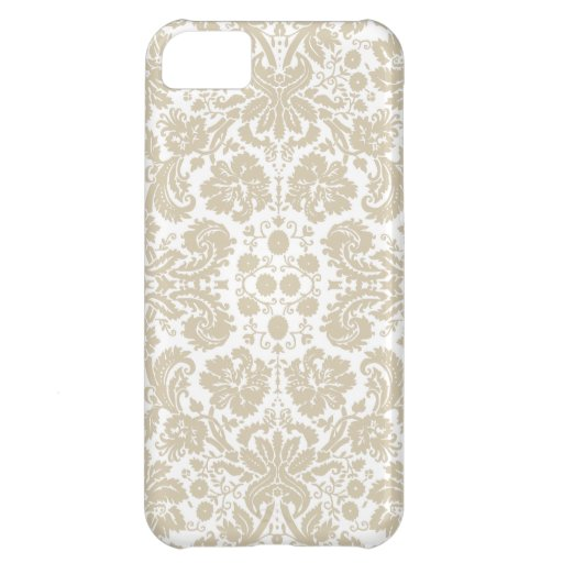 Vintage French Floral Art Nouveau Pattern Cover For iPhone 5C